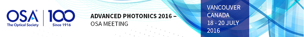 Advanced Photonics 2016