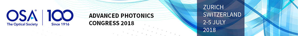 Advanced Photonics 2018