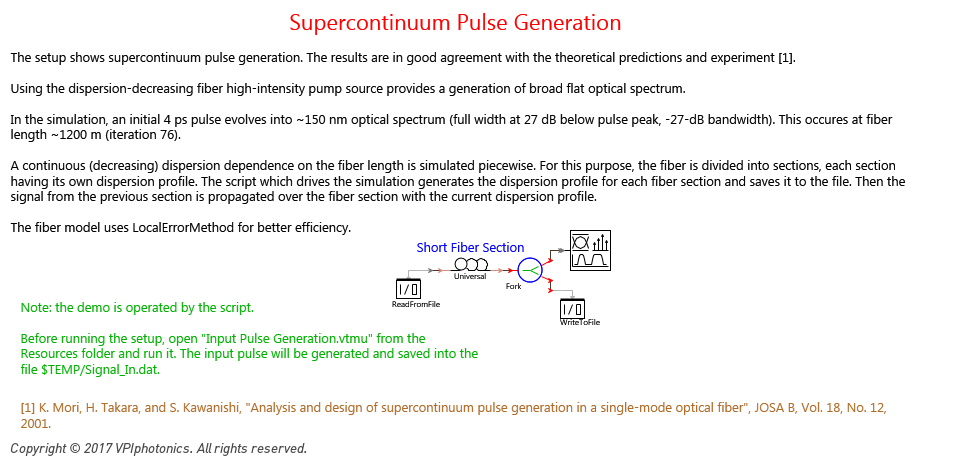 Picture for Supercontinuum Pulse Generation