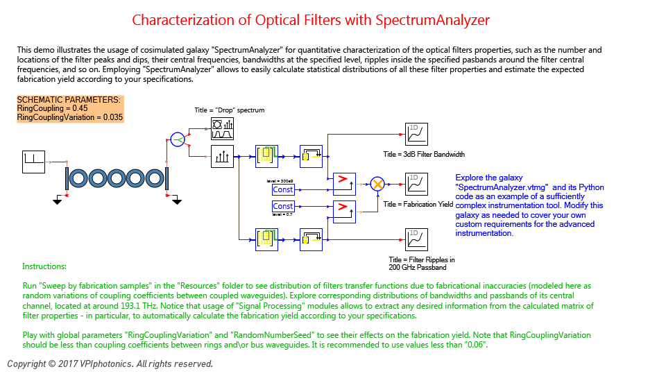 Picture for Characterization of Optical Filters with SpectrumAnalyzer