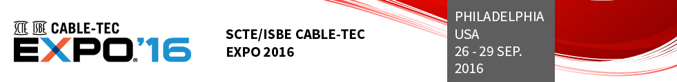 SCTE/ISBE Cable-Tec Expo 2016